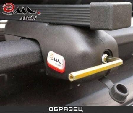 Багажник Amos Nowy на рейлинги с прямоуг. дугами для Peugeot 206 универсал (2002-2010) № nowy-o1.2