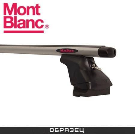 Багажник Mont Blanc AMC на крышу с аэродин. дугами для Mazda 3 хэтчбек 5-дв. (2003-2009) № 241260+245105