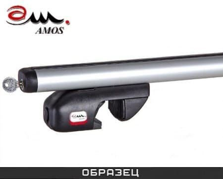 Багажник Amos Nowy на рейлинги с аэродин. дугами для ВАЗ 2104 универсал (1984-2012) № nowy-f1.2l