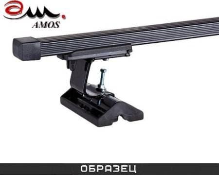 Багажник Amos Dromader на крышу с прямоуг. дугами для Fiat Stilo хэтчбек 3/5 дв. (2002-2007) № C-15-o1.3