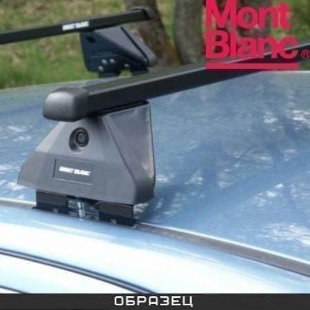 Багажник Mont Blanc ReadyFit на крышу с прямоуг. дугами для Saab 9-3 Sport универсал (2007-2011) № MB747016