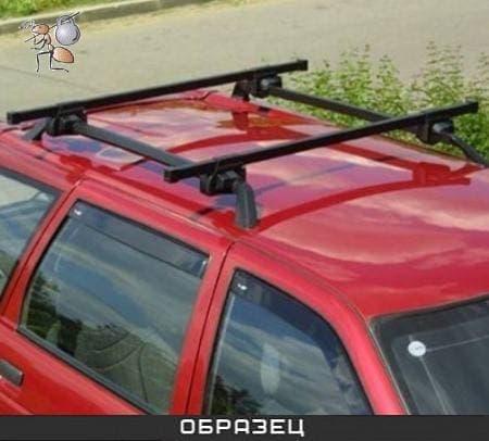 Багажник Муравей на рейлинги с прямоуг. дугами для Toyota Yaris Verso универсал (2003-2005) № 694944
