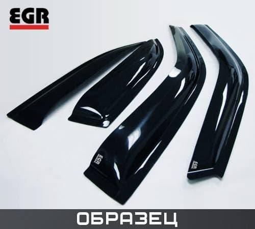Дефлекторы боковых окон для Hyundai Elantra хэтчбек (2003-2006) № 92435014B