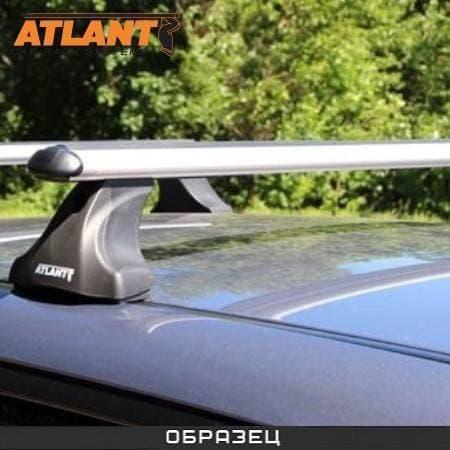Багажник Атлант в сборе на крышу с аэродин. дугами для Hyundai i30 I хэтчбек 5-дв. (2007-2011) № 7306