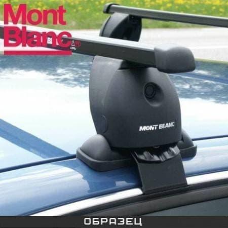 Багажник Mont Blanc ReadyFit на крышу с прямоуг. дугами для Daewoo Matiz хэтчбек 5-дв. (1998-2005) № MB747013