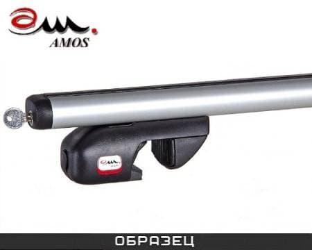 Багажник Amos Nowy на рейлинги с аэродин. дугами для Porsche Cayenne II 5-дв. (2010-2017) № nowy-f1.4l