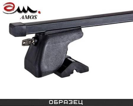 Багажник Amos Dromader Plus на крышу с прямоуг. дугами для Peugeot 307 хэтчбек 3/5-дв. (2001-2007) № C-15-o1.3-plus
