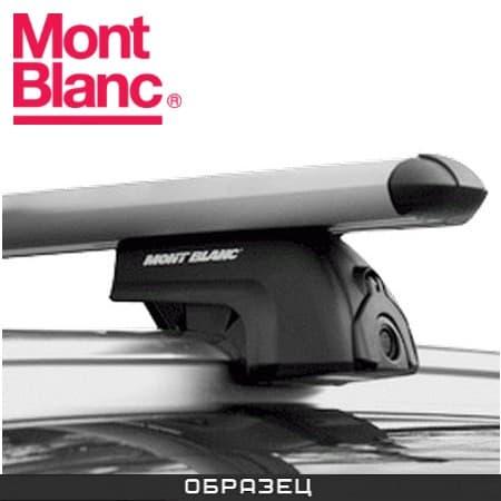 Багажник Mont Blanc ReadyFit на интегрированные рейлинги с аэродин. дугами для Seat Altea XL (2007-2013) № MB748023