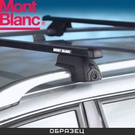 Багажник Mont Blanc ReadyFit на рейлинги с прямоуг. дугами для Peugeot 307 универсал (2002-2007) № MB747020