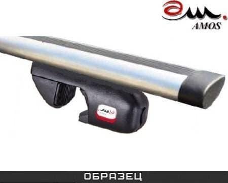 Багажник Amos Nowy на рейлинги с аэро-альфа дугами для Seat Alhambra минивен 5-дв. (1996-2009) № nowy-a1.3