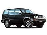 Багажник Mont Blanc AMC на рейлинги с аэродин. дугами для Ford Maverick 4x4 3/5-дв. (1993-1998) № 241270+245200